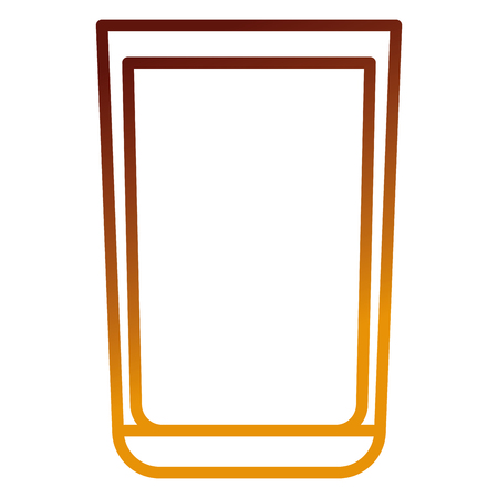 whiskey glass drink icon vector illustration design