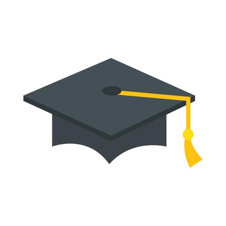 hat graduation isolated icon vector illustration design 写真素材 - 111694487