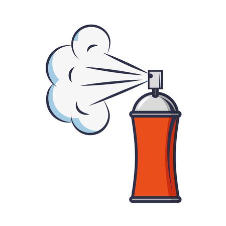 spray paint bottle icon vector illustration design Ilustrace