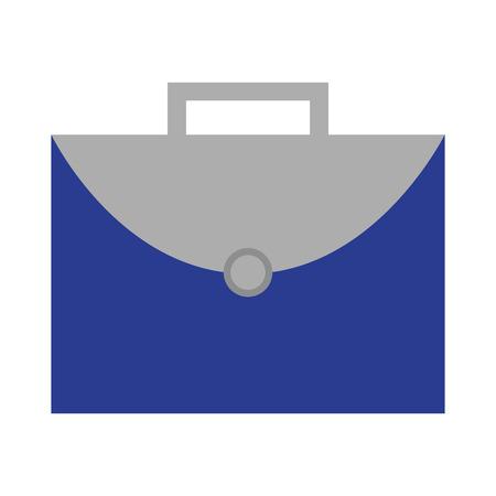 business briefcase work office icon vector illustration Stock Illustratie