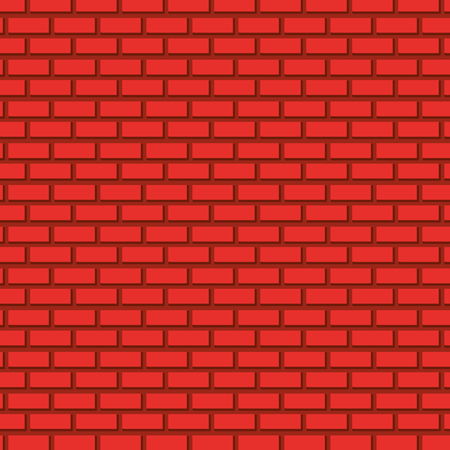 brick wall icon pattern vector illustration design