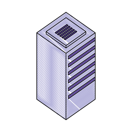 database center server storage technology vector illustration Фото со стока - 111662985