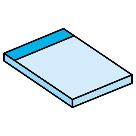 notebook school education icon vector illustration design Ilustrace