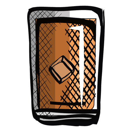 whiskey glass drink icon vector illustration design