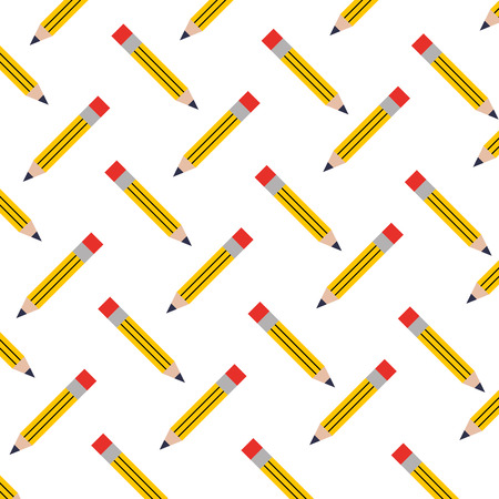 pencil write pattern background vector illustration design