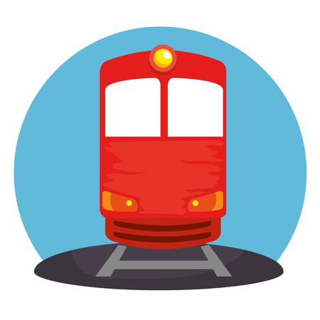 train transport public icon vector illustration design