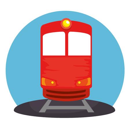 train transport public icon vector illustration design