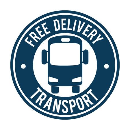 bus transport public icon vector illustration design Standard-Bild - 107346735
