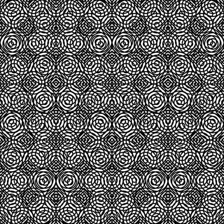 Schwarzweiss-Texturmusterhintergrundvektorillustrationsentwurf Vektorgrafik