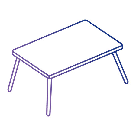 wooden table isolated icon vector illustration design