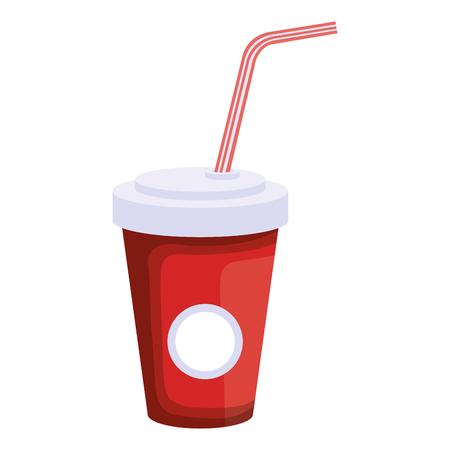soda in plastic container vector illustration design Illustration