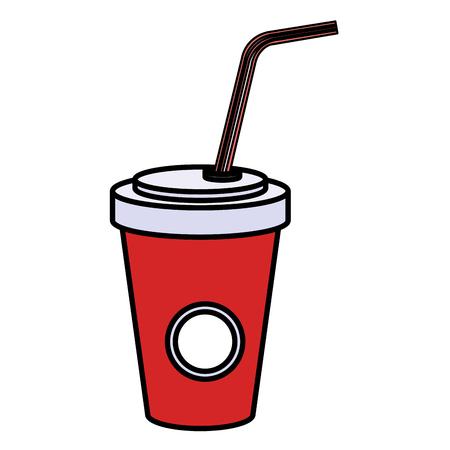 soda in plastic container vector illustration design Ilustração