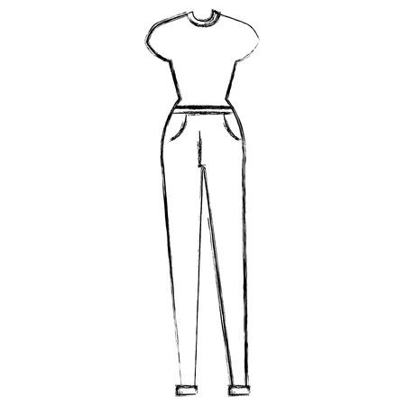 female clothes fashion icon vector illustration design Фото со стока - 110422295
