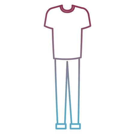male clothes fashion icon vector illustration design Иллюстрация