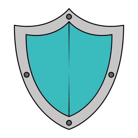 shield guard security icon vector illustration design Illusztráció