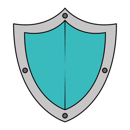 shield guard security icon vector illustration design Illustration