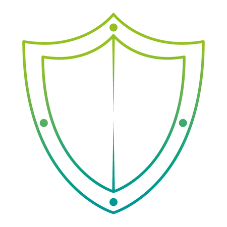 shield guard security icon vector illustration design Иллюстрация