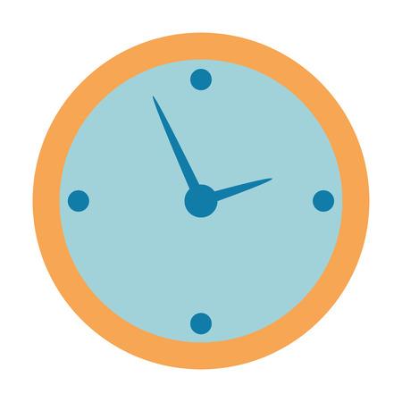 time clock isolated icon vector illustration design Archivio Fotografico - 110303250