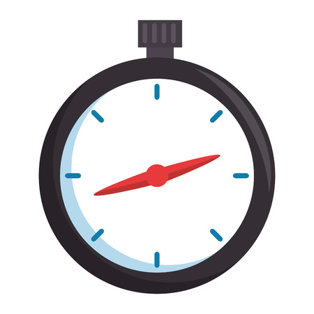 chronometer timer isolated icon vector illustration design Stok Fotoğraf - 110303255