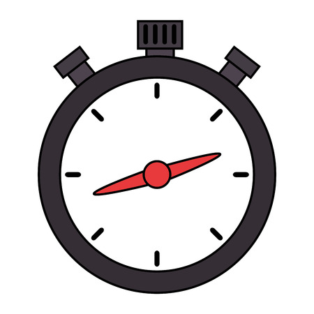 chronometer timer isolated icon vector illustration design
