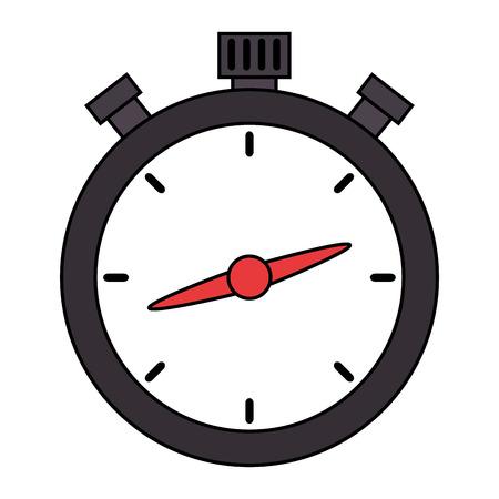 chronometer timer isolated icon vector illustration design Imagens - 110303386