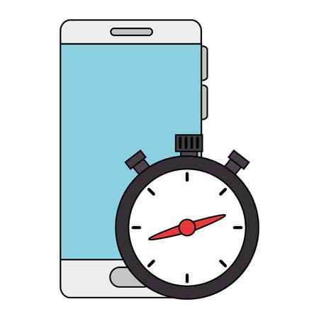 Mobilni telefon i štoperica