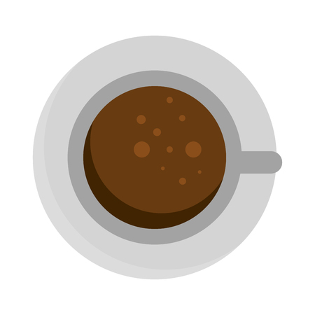 coffee cup isolated icon vector illustration design Stok Fotoğraf - 110242595