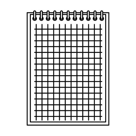 notebook school education icon vector illustration design Иллюстрация