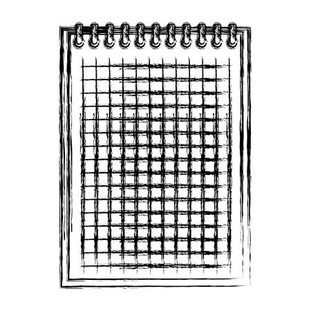 Diseño de ilustración de vector de icono de educación escolar portátil Ilustración de vector