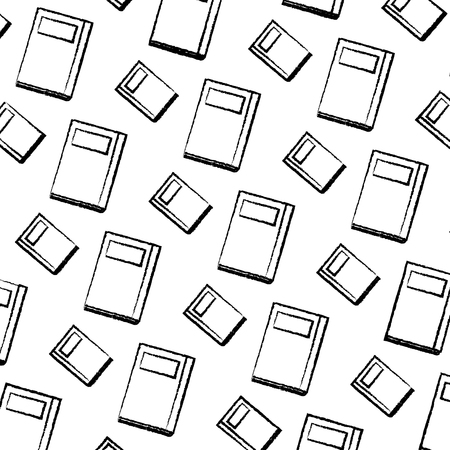 text books pattern background vector illustration design Иллюстрация