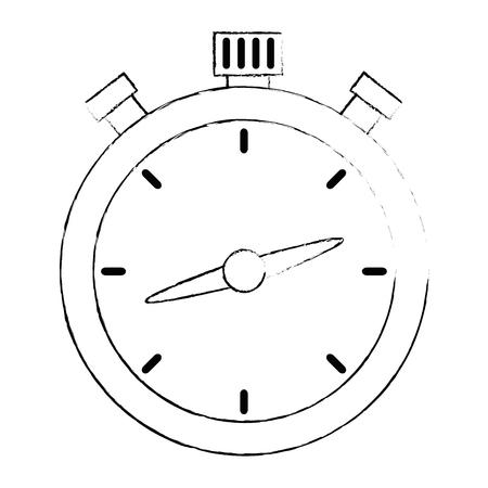chronometer timer isolated icon vector illustration design Imagens - 110176446
