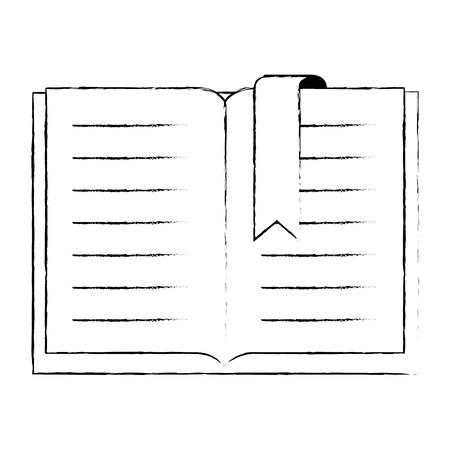 text book isolated icon vector illustration design Иллюстрация