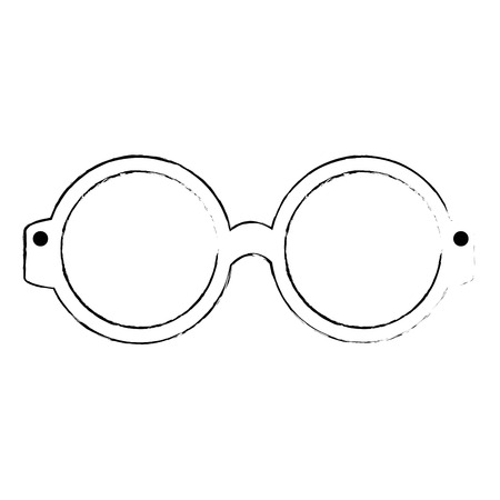 Gafas de ojo aislado icono de ilustración vectorial de diseño Foto de archivo - 108043988