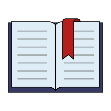 text book isolated icon vector illustration design Illusztráció