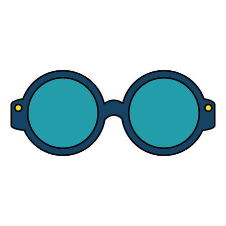 Gafas de ojo aislado icono de ilustración vectorial de diseño Foto de archivo - 108036542