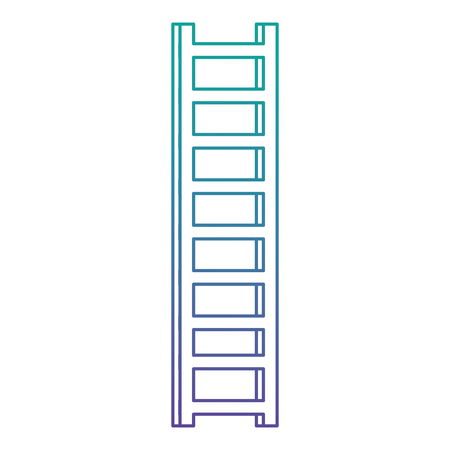 stairs portable isolated icon vector illustration design