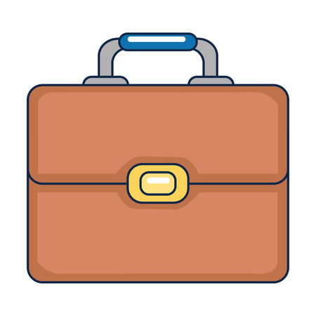 portfolio briefcase isolated icon vector illustration design Ilustracja