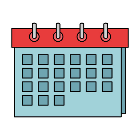 calendar reminder isolated icon vector illustration design Stock Vector - 108042758