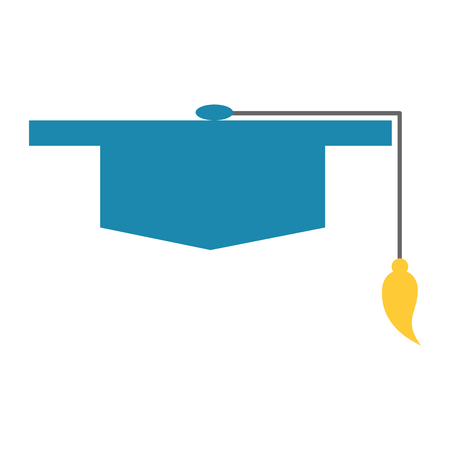 hat graduation isolated icon vector illustration design