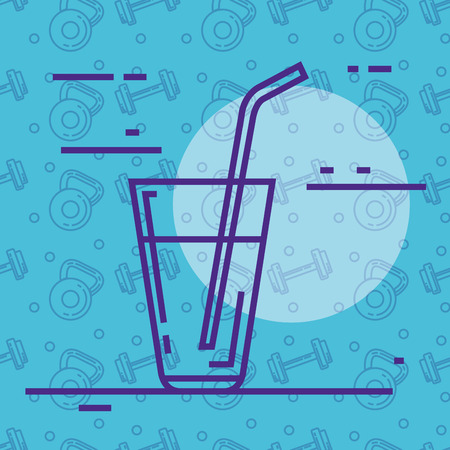 water cup glass icon vector illustration design