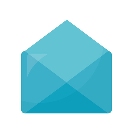 envelope mail isolated icon vector illustration design Illusztráció