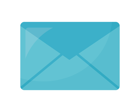 enveloppe mail icône isolé vector illustration design