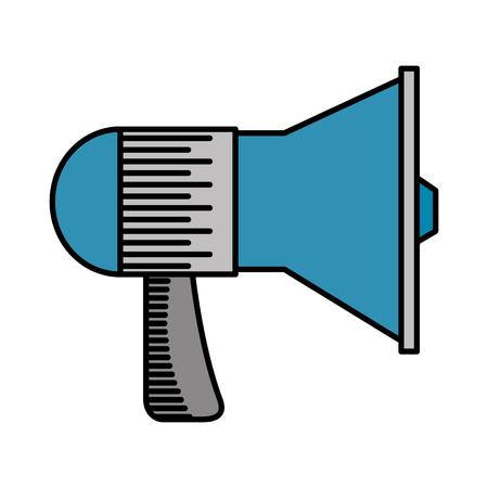 megaphone sound isolated icon vector illustration design Stock Vector - 109989949