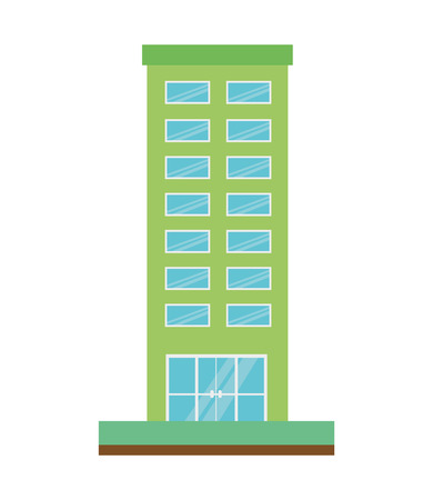 building structure isolated icon vector illustration design