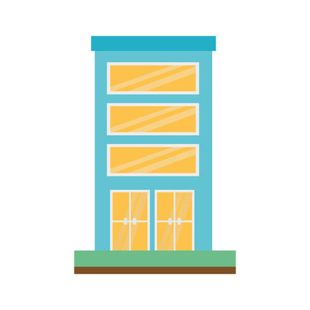 building structure isolated icon vector illustration design Archivio Fotografico - 108246855