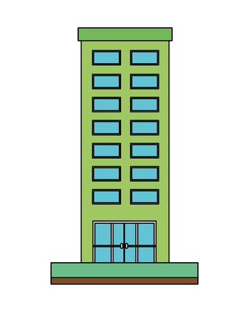building structure isolated icon vector illustration design Archivio Fotografico - 108246957
