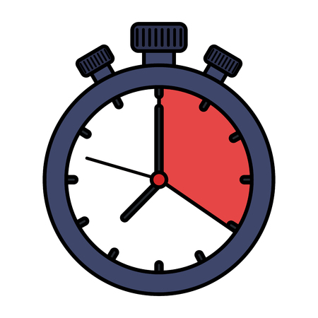 chronometer timer isolated icon vector illustration design Imagens - 109990291
