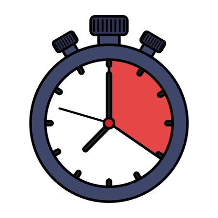 Ikonenvektor-Illustrationsdesign des Chronometers Timer lokalisiertes