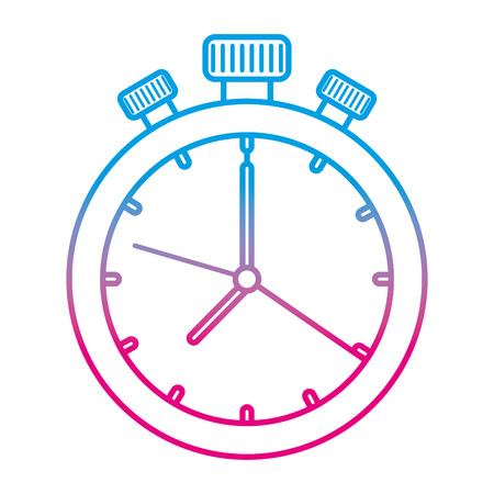 chronometer timer isolated icon vector illustration design Reklamní fotografie - 109990334