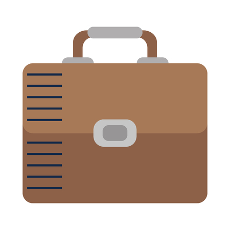 portfolio briefcase isolated icon vector illustration design  イラスト・ベクター素材